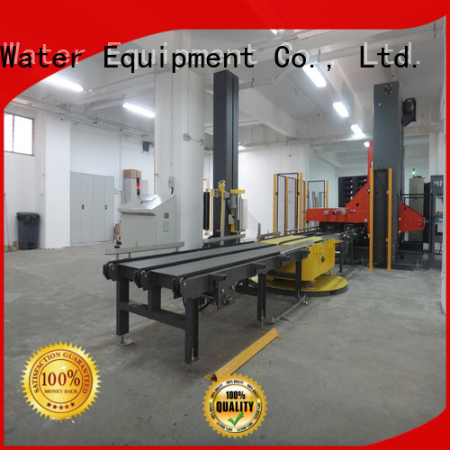 J&D WATER Brand prestretch wrapping machine pallet factory