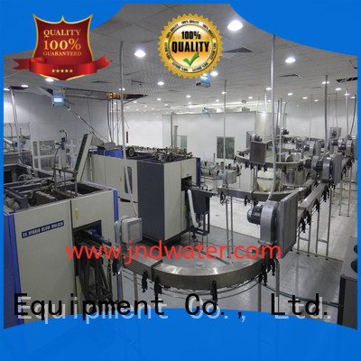 line beverage filling J&D WATER Brand air conveyor systems manufacture