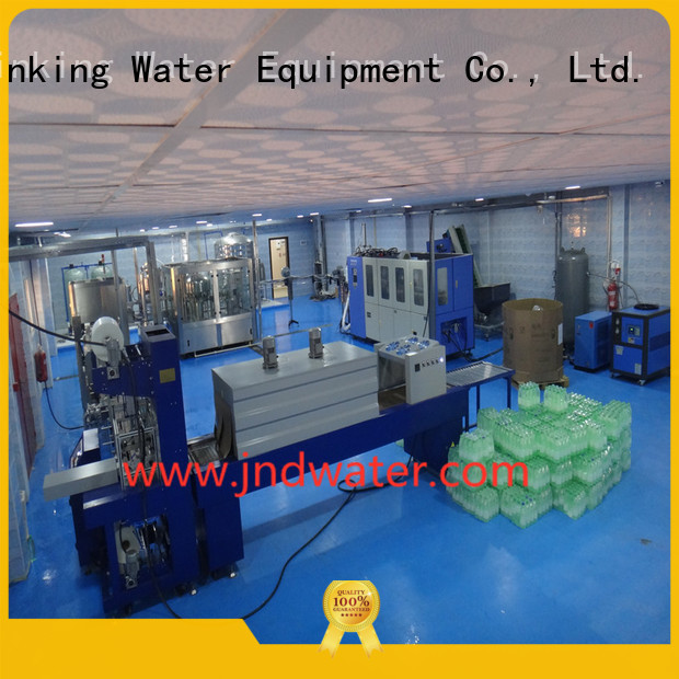 machine shrink automatic J&D WATER Brand shrink packing machine