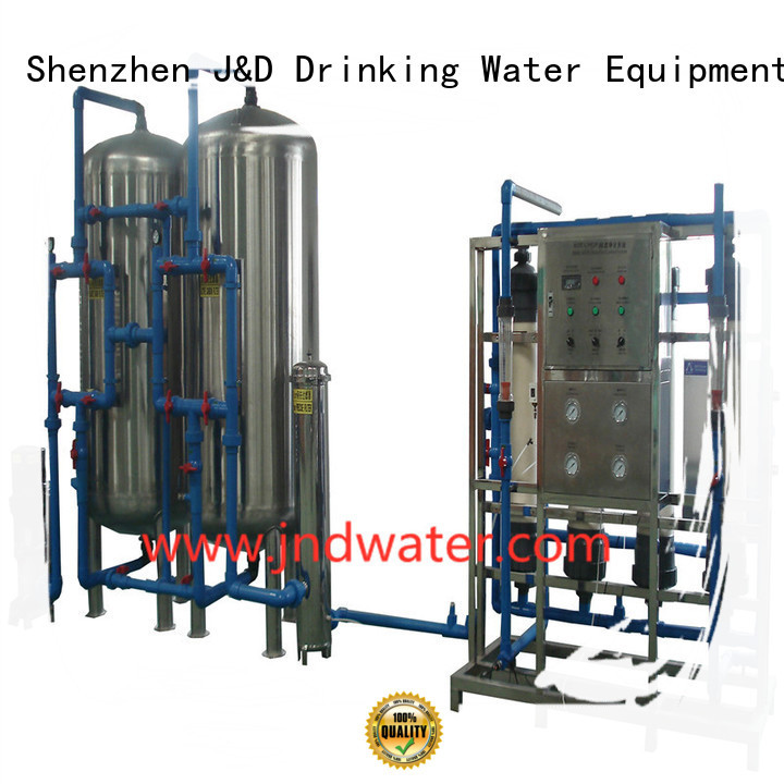 Hot mineral water filter machine price mineral J&D WATER Brand