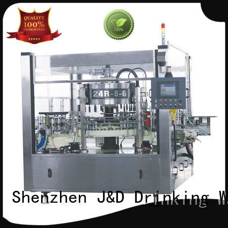 Quality J&D WATER Brand labeling machine manufacturer bottle