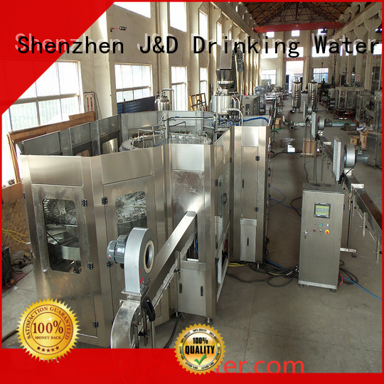 fully beverage filling J&D WATER Brand automatic bottle filling machine manufacture