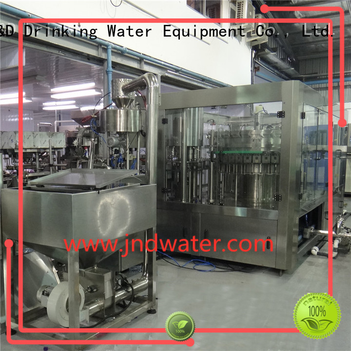J&D WATER Brand carbonated fully automatic sale bottle capping machine