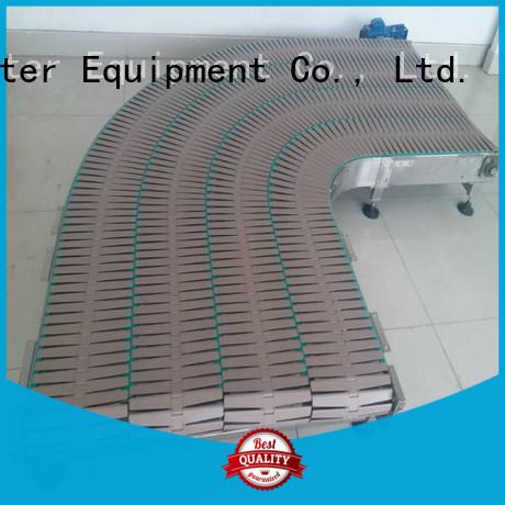 Custom belt steel chain conveyor J&D WATER conveyor