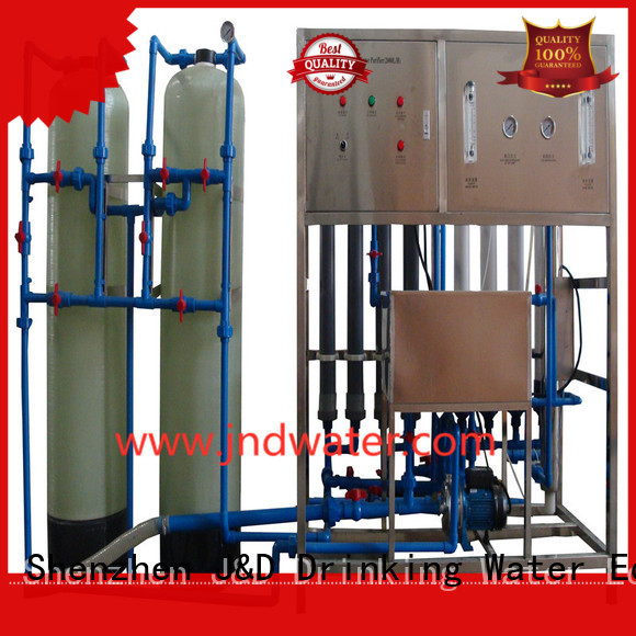 mineral water filter machine price mineral treatment Warranty J&D WATER
