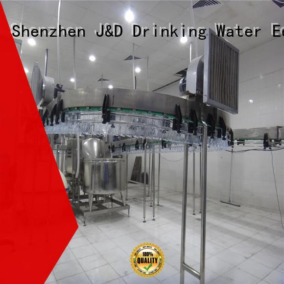 bottle air OEM air conveyors J&D WATER