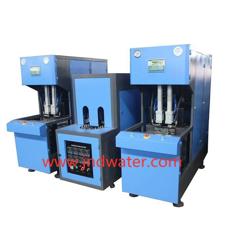 Semi-auto Reheat Stretch Blow Molding Machine