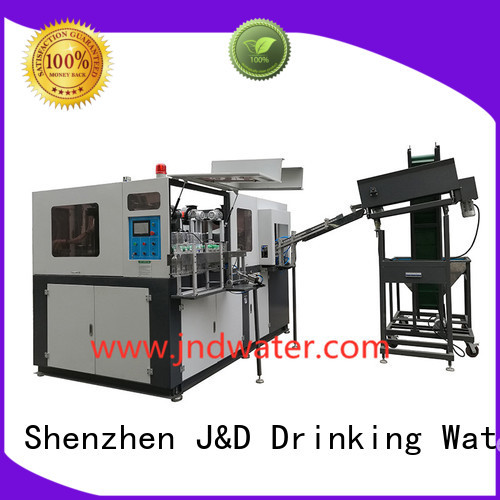 Quality J&D WATER Brand semi automatic pet blowing machine price molding water